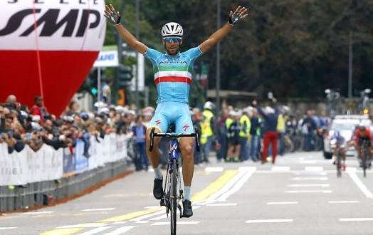 """Nibali, dopo il successo alla Tre Valli Varesine ora """"testa al Lombardia"""""""
