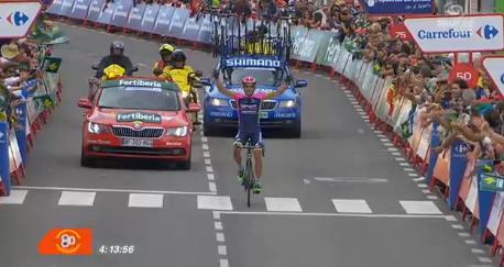 Vuelta 2015, assolo di Nelson Oliveira regala successo alla Lampre