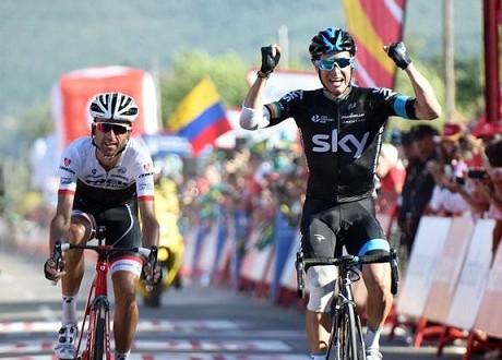 Vuelta 2015, fuga vincente di Roche. Aru attacca, ma Dumoulin passeggia