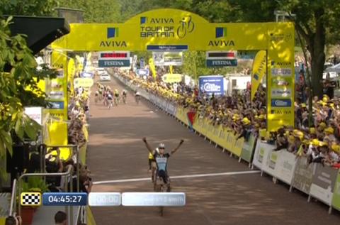 Tour of Britain 2015, arriva il successo di Matteo Trentin
