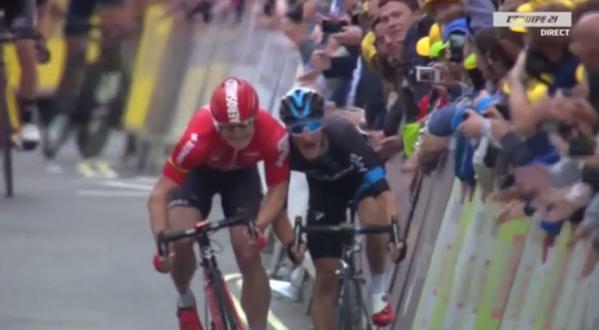 Tour of Britain 2015, Viviani fa tris a Londra. Generale a Boasson Hagen