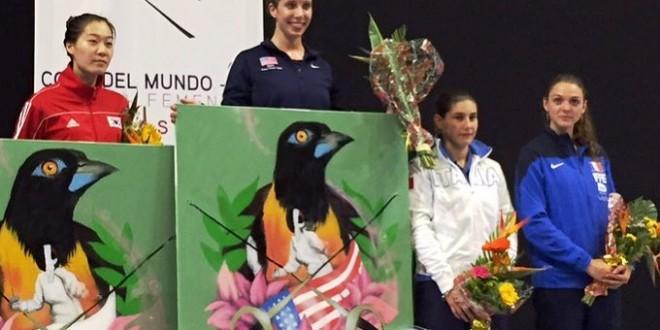 Caracas, Coppa del Mondo 2015/16 – sciabola: Gregorio sul podio. Vittoria per Zagunis