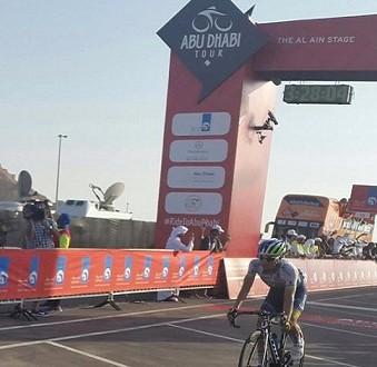 Abu Dhabi Tour 2015, a Chaves la tappa regina. Secondo Aru
