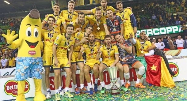 Supercoppa Italiana, Modena ruggisce e porta a casa il trofeo: 3-2 su Trento