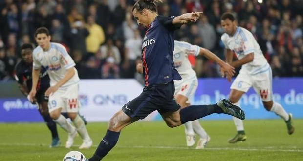 Ligue 1: il Psg mata anche l'OM. Ibra è da record!