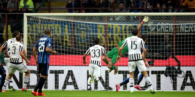 Serie A: l'Inter frena la Juve; Roma e Napoli ringraziano e scappano