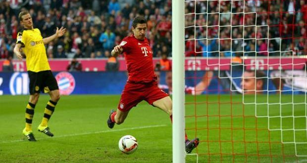 Bundesliga: mamma mia che Bayern, 5-1 pure al Dortmund!