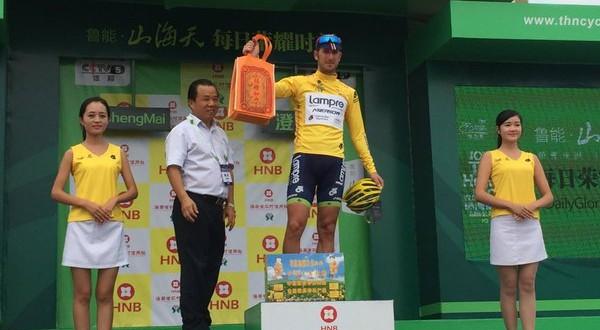 Tour of Hainan 2015, tappa e maglia per Modolo