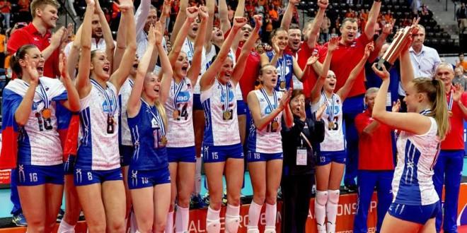 Eurovolley 2015, Russia ancora campione: demolita l'Olanda in finale