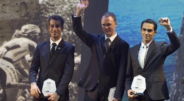 Uci Cycling Gala, premiati ad Abu Dhabi i migliori atleti del 2015