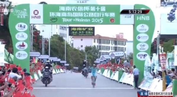 Tour of Hainan 2015: a Zeits la tappa regina, ma Modolo resiste