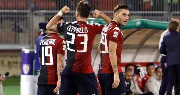 Serie B, 11ᴬ giornata: Cagliari-Vicenza 2-0, aggancio alla vetta riuscito