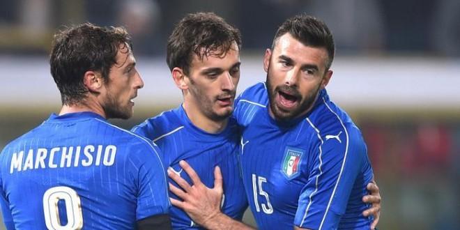 Nazionale, Italia-Romania 2-2: non bastano Marchisio e Gabbiadini