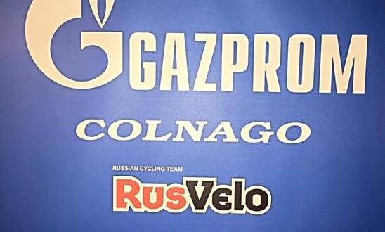 Rusvelo diventa Gazprom – Colnago