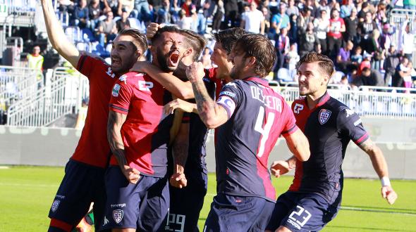 Serie B, 12^ giornata: Cagliari solo in vetta, Cesena Ko