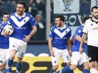 Caracciolo Brescia Serie B, foto Lapresse