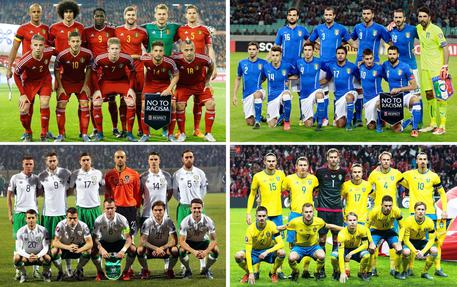 Euro 2016: Italia, girone con Ibra-vidi ma non troppo