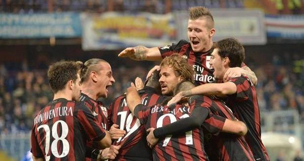 Coppa Italia: 2-0 Milan e Miha manda al tappeto la Samp