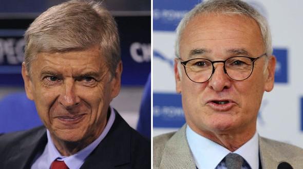 Premier League, il punto: Ranieri-Wenger generali d'inverno