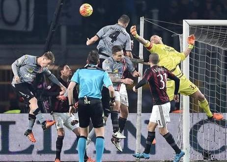 Coppa Italia, Alessandria-Milan 0-1: rossoneri sciuponi, grigi stoici