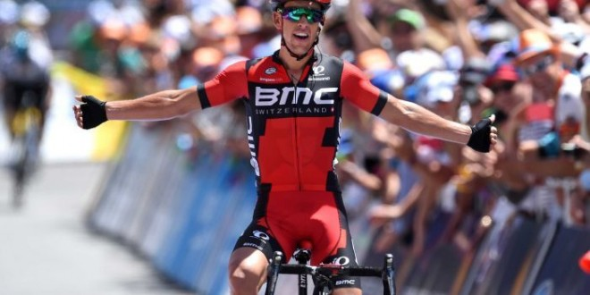 Tour Down Under 2016, a Willunga Hill è la prima di Porte in maglia Bmc
