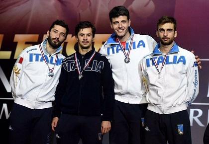 CDM Fioretto, che Italia! Donne ancora d'oro, uomini qualificati a Rio 2016