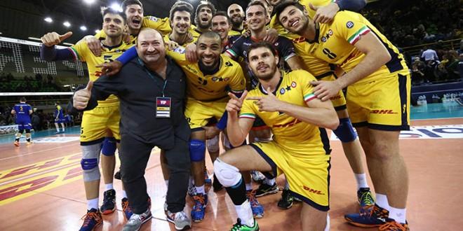 Volley maschile, Coppa Italia: Modena super, Trento k.o. 3-0!