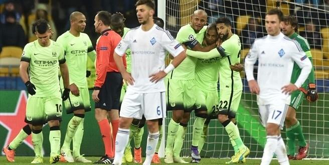 Champions, Dinamo Kiev-Manchester City 1-3: Pellegrini ipoteca i quarti