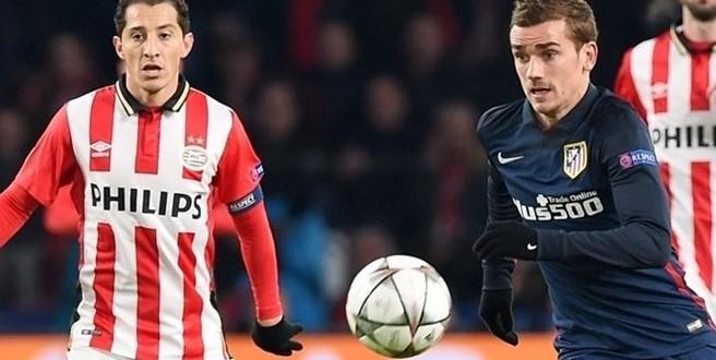 Champions, ecco Atletico-PSV: tutto può succedere al Calderón