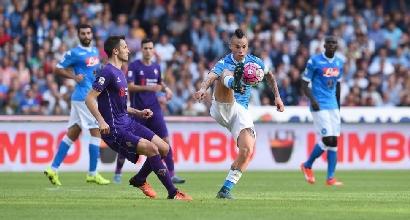 Serie A: alle 21 c'è Fiorentina-Napoli, chi perde è perduto