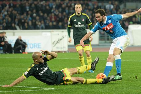 Serie a, 26ᴬ: Napoli-Milan 1-1; azzurri fermi al palo, niente sorpasso