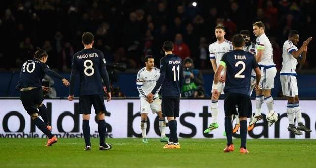 Champions: il Psg merita e piega il Chelsea 2-1 con Ibra e Cavani