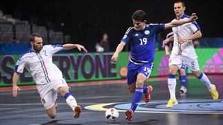 Euro Futsal 2016, disfatta Italia: il Kazakhstan ci batte 5-2, addio bis!