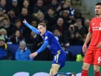 Jamie Vardy Leicester-Liverpool Premier League