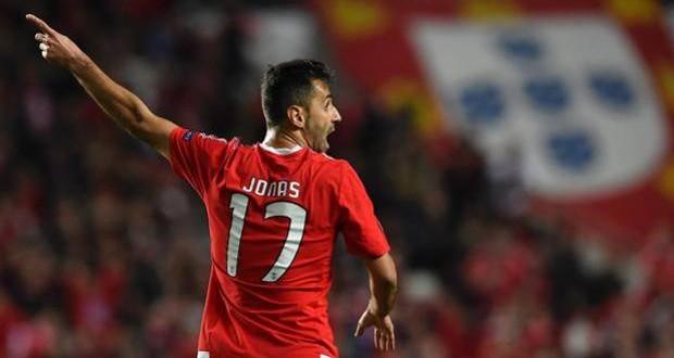 Champions: lampo-Jonas al 91', e Benfica-Zenit finisce 1-0