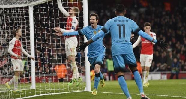 Champions, Arsenal-Barcellona 0-2: nel segno del solito Messi