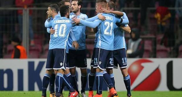 Europa League: Lazio, pari d'oro nella tana del Gala