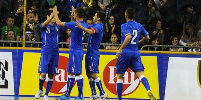 Mondiali calcio a 5, bene l'Italia nell'ultimo test: 5-0 all'Uzbekistan; domenica notte debutto