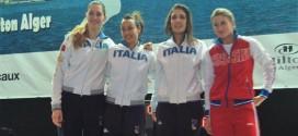 CDM fioretto, ennesimo capolavoro Italia: tris Di Francisca-Batini-Errigo