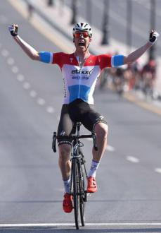 Tour of Oman 2016, colpo di mano di Bob Jungels