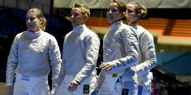 Anche la sciabola donne vola a Rio 2016