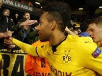 Aubameyang Tottenham-Borussia Dortmund Europa League