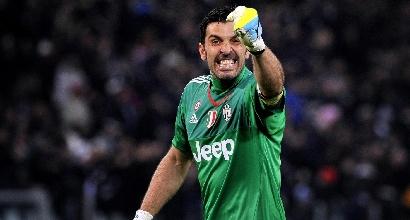 Buffon Juve-Sassuolo Serie A