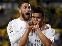 Casemiro-Sergio Ramos Real Madrid Liga