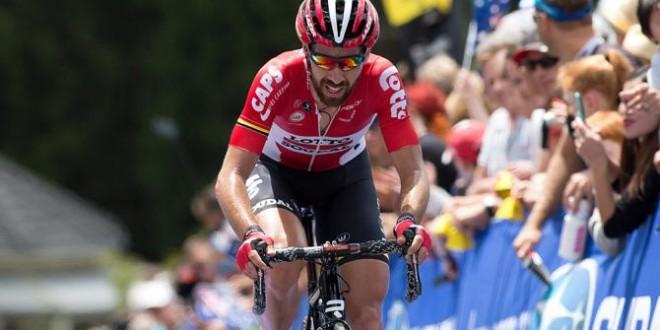 Volta a Catalunya 2016: tappa a De Gendt, maglia a Quintana