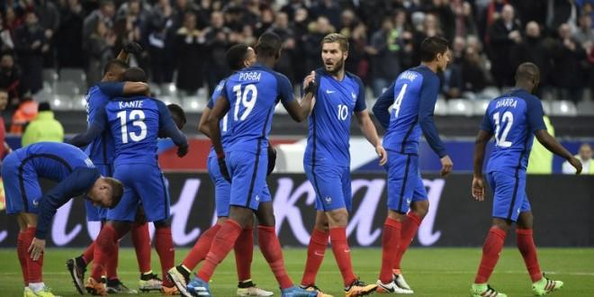 Amichevoli: bene la Francia e la Bosnia romanista, scivola l'Inghilterra a Wembley
