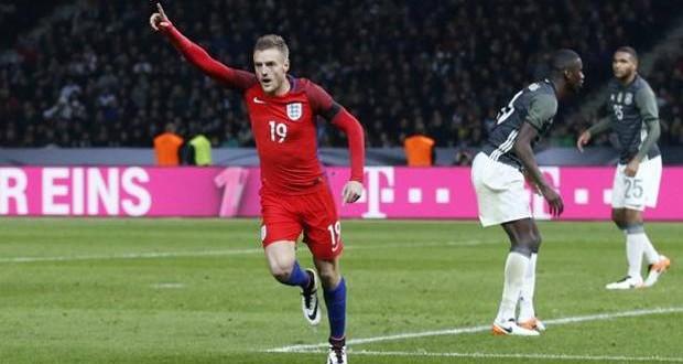 Amichevoli: l'Inghilterra rimonta 2-3 la Germania, tacco sublime di Vardy!