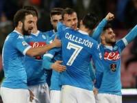 Napoli Chiriches Callejon Higuain Insigne Serie A