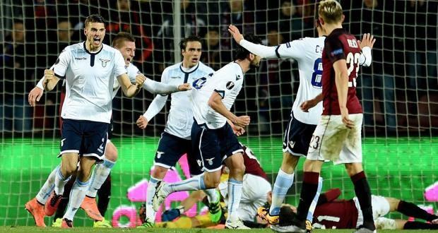 Europa League, Lazio-Sparta Praga: obiettivo-quarti per l'Italia
