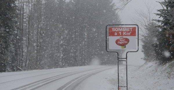 Parigi-Nizza 2016, vince la neve: tappa annullata!